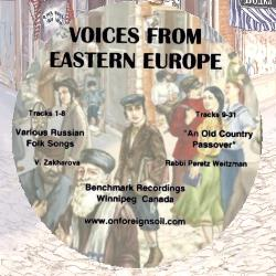 VOICES FROM EASTERN EUROPE